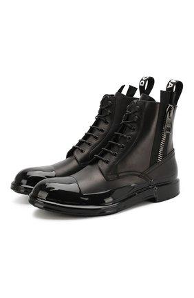 Кожаные ботинки Firenze   Фото №1