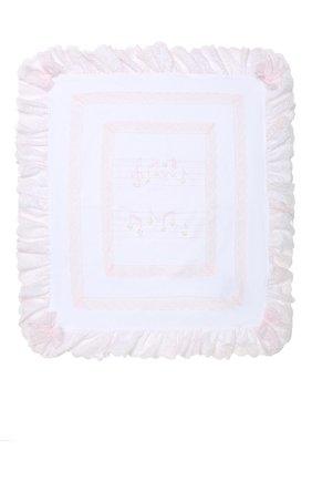 Детского хлопковое одеяло ALETTA белого цвета, арт. RD99240 | Фото 2