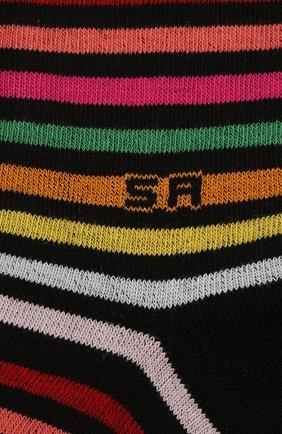 Детские хлопковые гольфы SONIA RYKIEL ENFANT разноцветного цвета, арт. 19S1AC01 | Фото 2