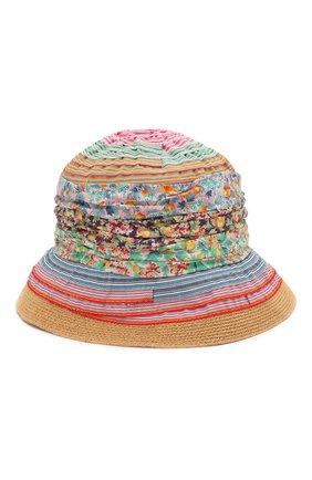 Детская шляпа GREVI разноцветного цвета, арт. 5047 | Фото 1