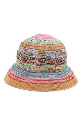 Детская шляпа GREVI разноцветного цвета, арт. 5047 | Фото 2