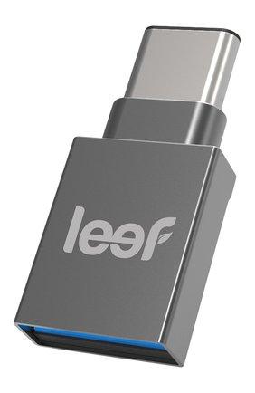 Мужской внешний накопитель bridge-c 32gb LEEF серебряного цвета, арт. LBC000KK032R3 | Фото 1