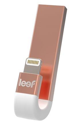 Мужской внешний накопитель ibridge 3 64gb LEEF розового цвета, арт. LIB300RW064R1 | Фото 1
