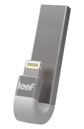 Мужской внешний накопитель ibridge 3 128gb LEEF серебряного цвета, арт. LIB300SW128R1 | Фото 1