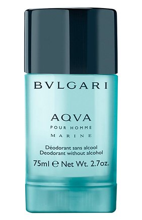 Мужской дезодорант-стик aqva marine BVLGARI бесцветного цвета, арт. 91559BVL | Фото 1