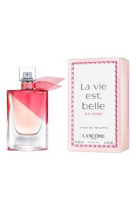 Туалетная вода la vie est belle en rose LANCOME бесцветного цвета, арт. 3614272520868 | Фото 2