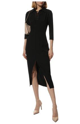 Женские кожаные туфли PRADA бежевого цвета, арт. 1I834I-3A9S-F0236-085 | Фото 2 (Статус проверки: Проверено, Проверена категория; Материал внешний: Кожа; Каблук высота: Высокий; Подошва: Плоская; Материал внутренний: Натуральная кожа; Каблук тип: Шпилька)