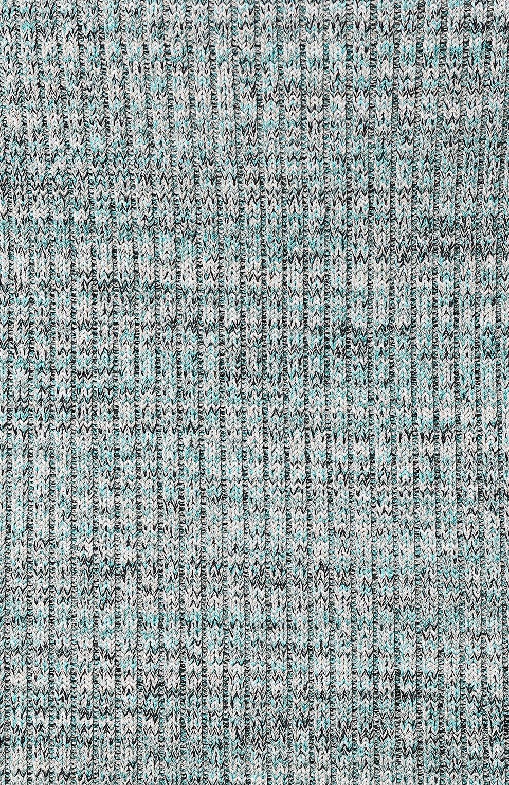 Женская юбка из смеси вискозы и хлопка BOSS зеленого цвета, арт. 50408241 | Фото 5
