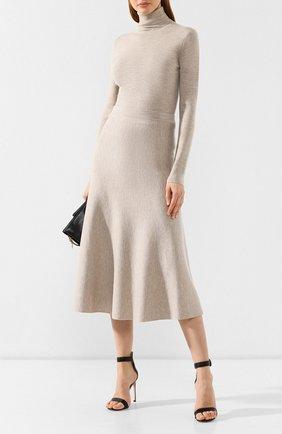 Женская шерстяная юбка GABRIELA HEARST бежевого цвета, арт. F18GH919 | Фото 2