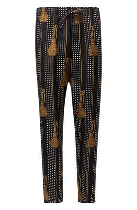 Шелковые домашние брюки | Фото №1