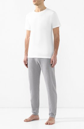 Мужские хлопковые домашние брюки SUNSPEL серого цвета, арт. MTRS1518 | Фото 2