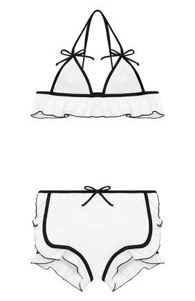 Детского раздельный купальник SIMONETTA черно-белого цвета, арт. 1K0309/KX340 | Фото 1