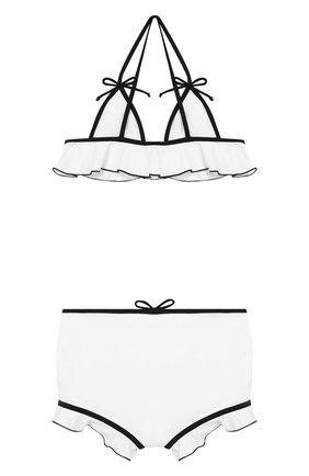 Детского раздельный купальник SIMONETTA черно-белого цвета, арт. 1K0309/KX340 | Фото 2