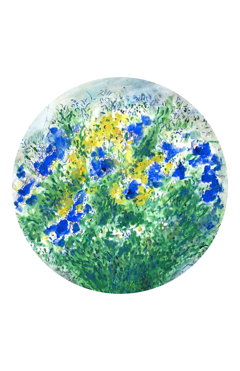 Блюдо Les Bouquets de Fleurs de Marc Chagall    Фото №1