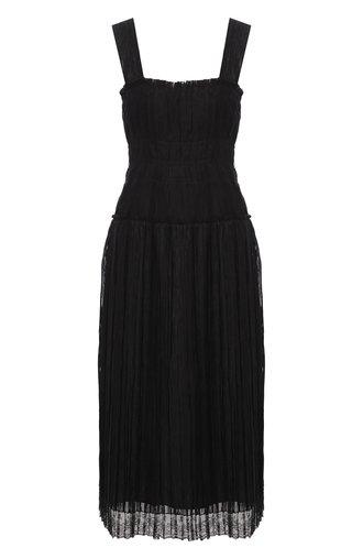 Платье из смеси вискозы и шелка