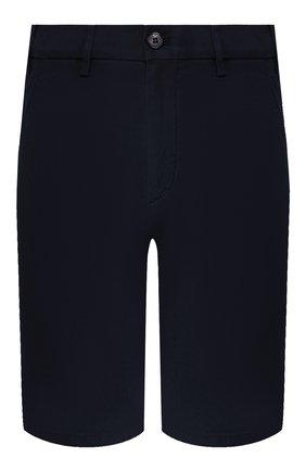 Мужские хлопковые шорты LORO PIANA темно-синего цвета, арт. FAE8348 | Фото 1