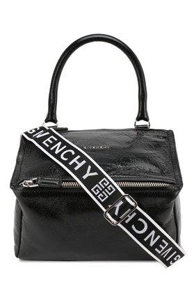 Женская сумка pandora small GIVENCHY черного цвета, арт. BB500AB0E8 | Фото 1