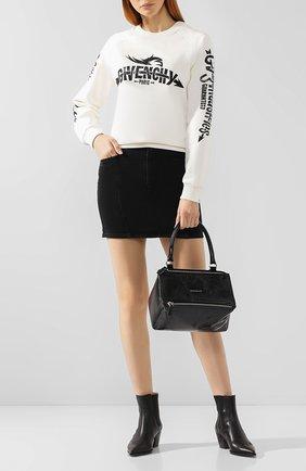 Женская сумка pandora small GIVENCHY черного цвета, арт. BB500AB0E8 | Фото 2
