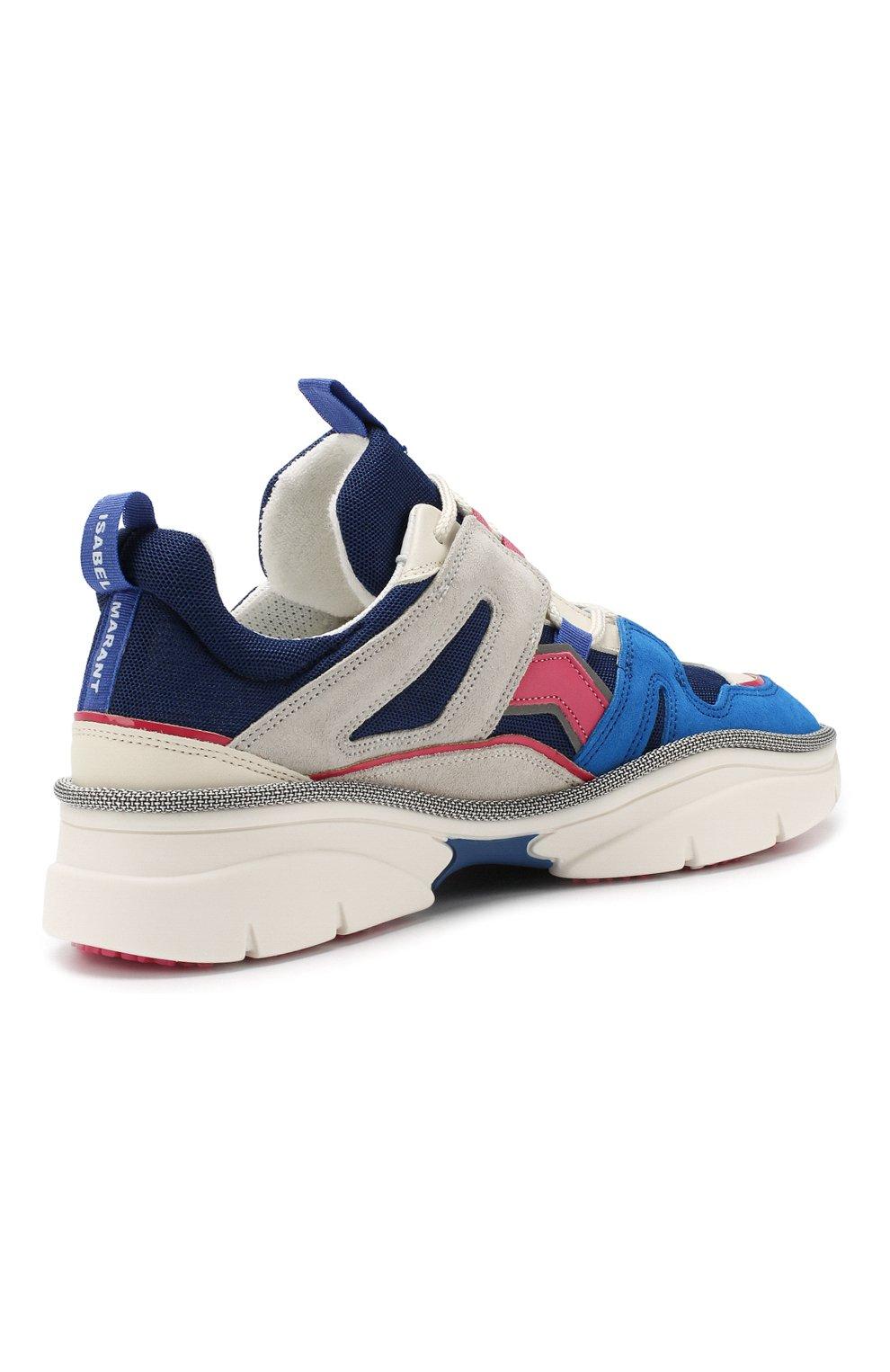 Комбинированные кроссовки Kindsay | Фото №4