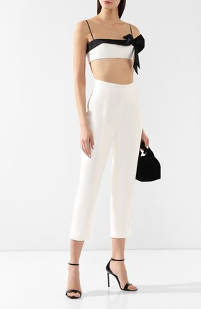 Женские шелковые брюки RASARIO белого цвета, арт. 0014S9_3 | Фото 2