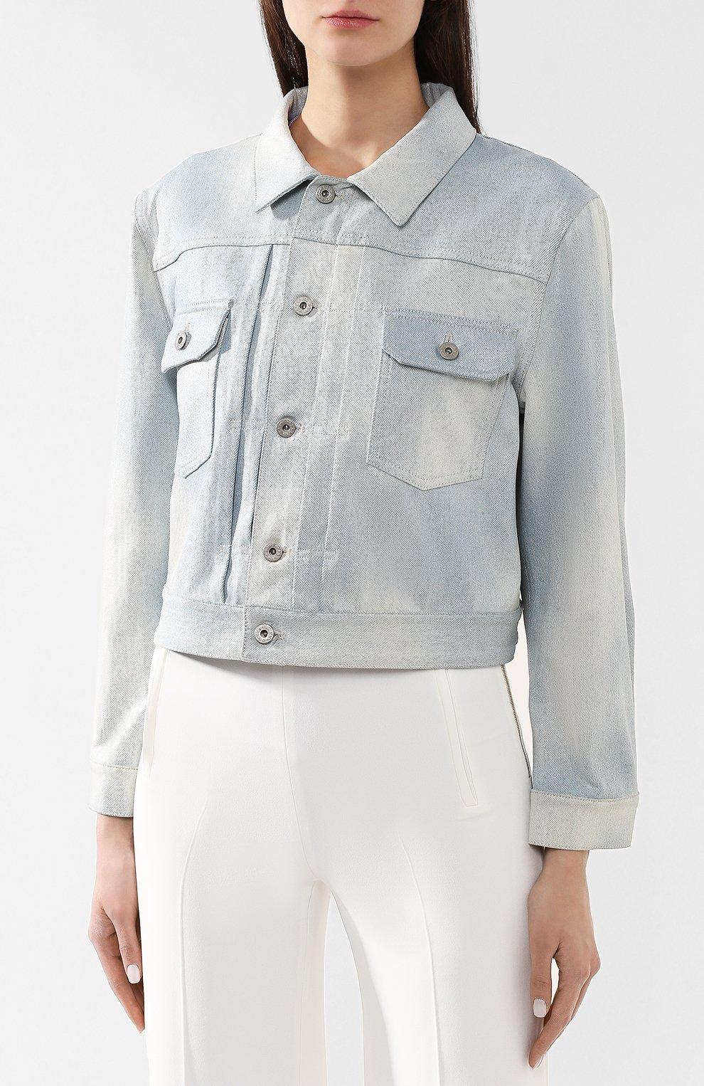 Джинсовая куртка Ralph Lauren голубой   Фото №3