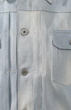 Джинсовая куртка Ralph Lauren голубой   Фото №5
