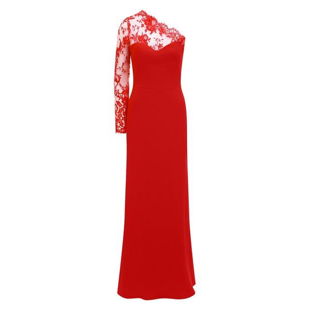 Платье-макси Alexander McQueen