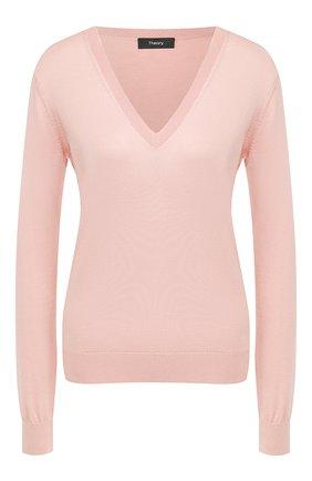 Пуловер из смеси шелка и хлопка | Фото №1