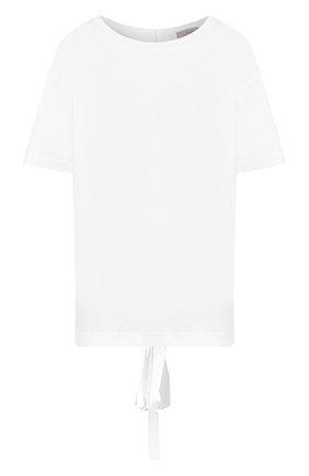 Футболка из вискозы MRZ белая | Фото №1