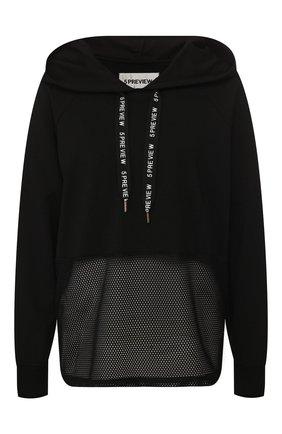 Пуловер с капюшоном | Фото №1