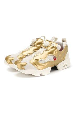 Комбинированные кроссовки Instapump Fury | Фото №1