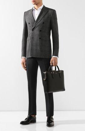 Мужская кожаная сумка для ноутбука monreale DOLCE & GABBANA черного цвета, арт. BM1590/AC954 | Фото 2