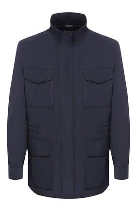 Мужская куртка BRIONI темно-синего цвета, арт. SFNC0L/P8805 | Фото 1
