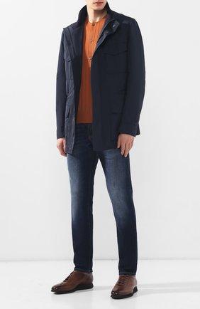 Мужская куртка BRIONI темно-синего цвета, арт. SFNC0L/P8805 | Фото 2
