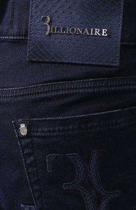 Джинсы прямого кроя Billionaire темно-синие   Фото №5