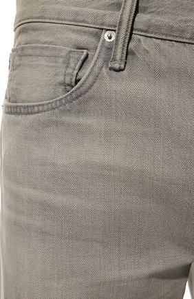 Джинсы Tom Ford серые | Фото №5