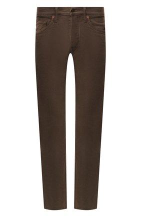 Мужские джинсы TOM FORD коричневого цвета, арт. BSJ17/TFD002 | Фото 1