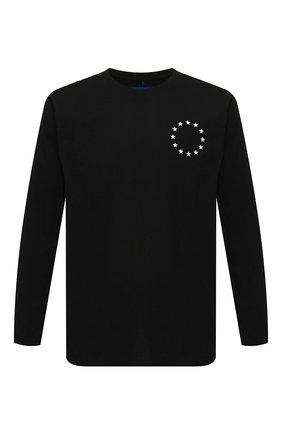 Мужская хлопковый лонгслив ÉTUDES черного цвета, арт. E14B-428-01 | Фото 1