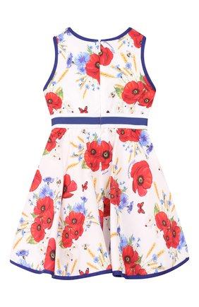 Женский хлопковое платье MONNALISA разноцветного цвета, арт. 313926 | Фото 2