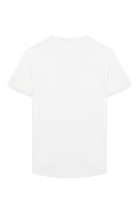 Детская льняная футболка BALMAIN белого цвета, арт. 6K8061/KX300/4-10 | Фото 2