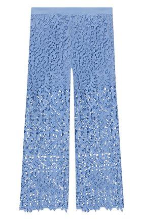 Укороченные брюки из хлопка   Фото №1