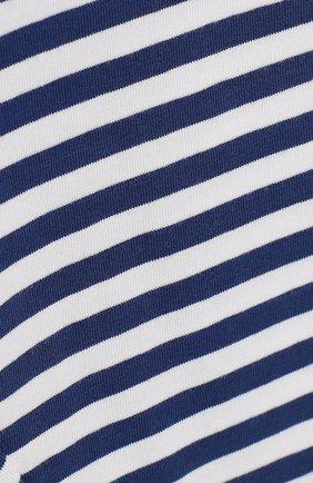 Детские хлопковые леггинсы MONNALISA голубого цвета, арт. 393402SF   Фото 3 (Материал внешний: Хлопок; Статус проверки: Проверено, Проверена категория; Ростовка одежда: 12 мес   80 см, 18 мес   86 см, 24 мес   92 см)