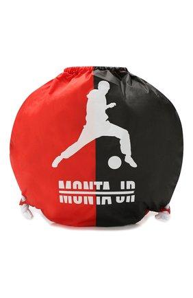 Детская текстильный рюкзак MONTA JR красного цвета, арт. BALL BAG | Фото 1