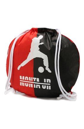 Детская текстильный рюкзак MONTA JR красного цвета, арт. BALL BAG | Фото 2