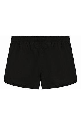 Детские плавки-шорты NEIL BARRETT KIDS черного цвета, арт. 018852 | Фото 2