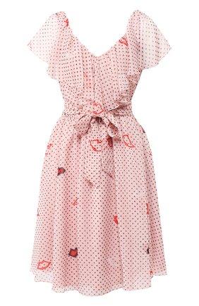 Платье с рюшами | Фото №1