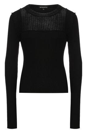 Пуловер из хлопка и кашемира   Фото №1