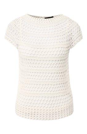 Пуловер с короткими рукавами | Фото №1