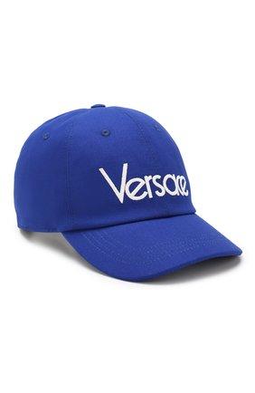 Хлопковая бейсболка с логотипом бренда | Фото №1