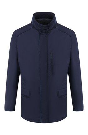 Мужская шерстяная куртка BRIONI темно-синего цвета, арт. SFND0L/P8A44/3XL-6XL | Фото 1